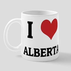 I Love Alberta Mug