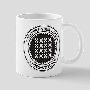 Support Cross-stitcher Mug
