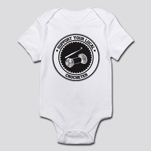 Support Crocheter Infant Bodysuit