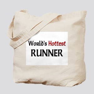 World's Hottest Runner Tote Bag