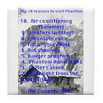 Phantom Ranch top 10 Tile Coaster