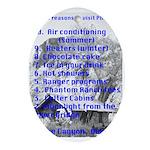 Phantom Ranch top 10 Oval Ornament