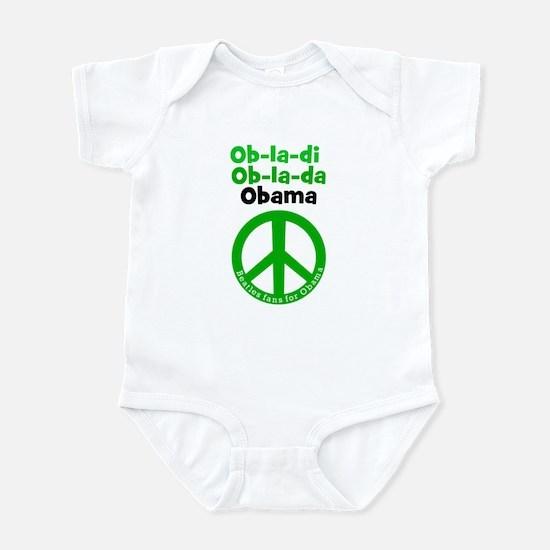 Ob-La-Di Ob-La-Da Obama infant Bodysuit