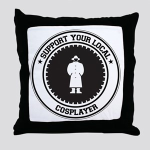 Support Cosplayer Throw Pillow