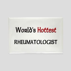 World's Hottest Rheumatologist Rectangle Magnet