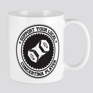 Support Concertina Player Mug