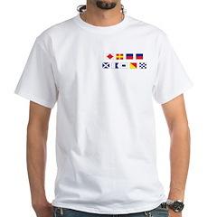 Mason Sailors Flags White T-Shirt