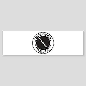 Support Clarinet Player Bumper Sticker