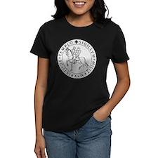 Templar Seal Women's Dark T-Shirt