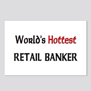 World's Hottest Retail Banker Postcards (Package o