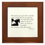 Framed Tile-Change for the better