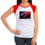 Suckerfish Women's Cap Sleeve T-Shirt