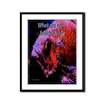 Suckerfish Framed Panel Print