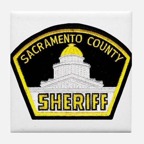 Sacto Sheriff Tile Coaster