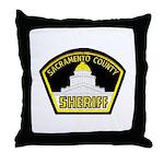 Sacto Sheriff Throw Pillow