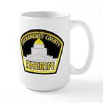 Sacto Sheriff Large Mug