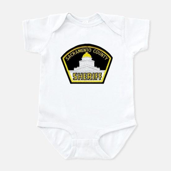 Sacto Sheriff Infant Bodysuit