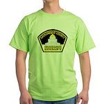Sacto Sheriff Green T-Shirt