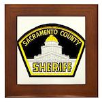 Sacto Sheriff Framed Tile