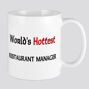 World's Hottest Restaurant Manager Mug