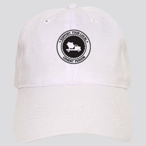 Support Cement Person Cap