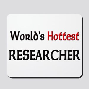 World's Hottest Researcher Mousepad