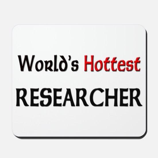 World's Hottest Researcher Mousepad