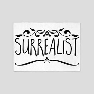 Surrealist 5'x7'Area Rug