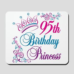 95th Birthday Princess Mousepad