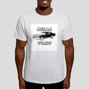 Melba Toast (confused? dazed?) Ash Grey T-Shirt