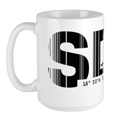 Santo Domingo SDQ Dominican Republic Large Mug