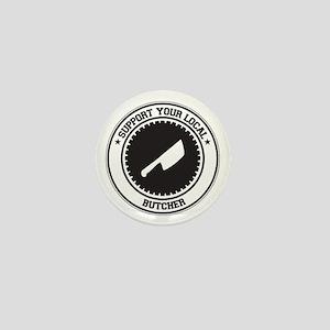 Support Butcher Mini Button