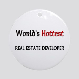 World's Hottest Real Estate Developer Ornament (Ro