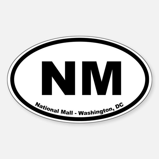 National Mall and Memorial Parks Oval Decal