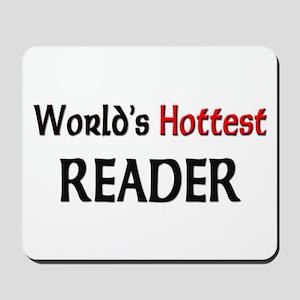 World's Hottest Reader Mousepad