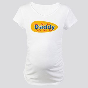 Triathlon Daddy Maternity T-Shirt
