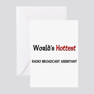 World's Hottest Radio Broadcast Assistant Greeting