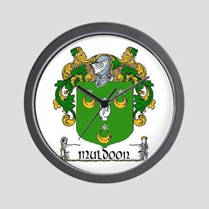 Muldoon Coat of Arms Wall Clock