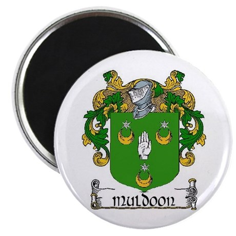 """Muldoon Coat of Arms 2.25"""" Magnets (10 pack)"""