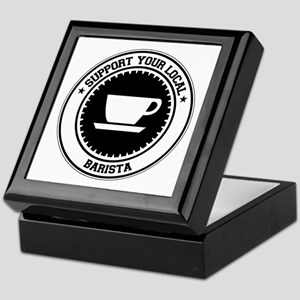Support Barista Keepsake Box