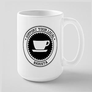Support Barista Large Mug