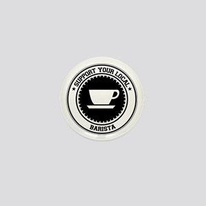 Support Barista Mini Button