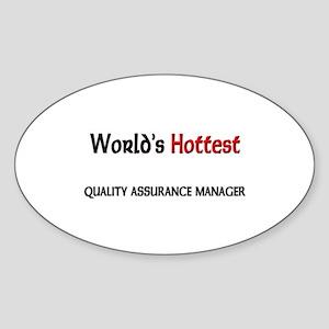 World's Hottest Quality Assurance Manager Sticker
