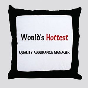 World's Hottest Quality Assurance Manager Throw Pi