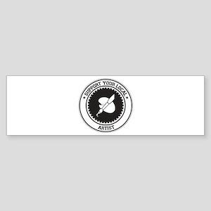 Support Artist Bumper Sticker