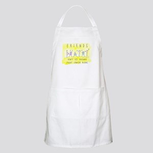 Cancer Friends BBQ Apron