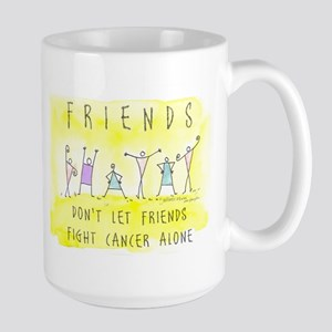 Cancer Friends Large Mug