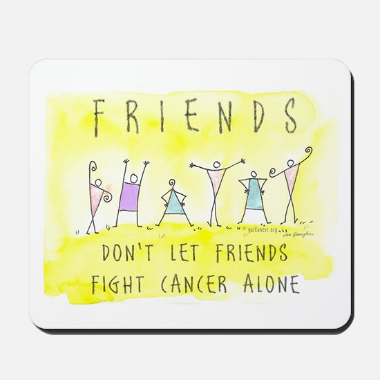 Cancer Friends Mousepad