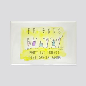 Cancer Friends Rectangle Magnet