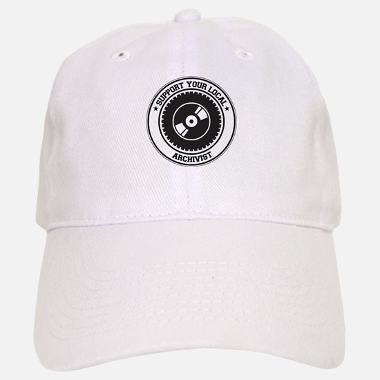 Support Archivist Baseball Baseball Cap